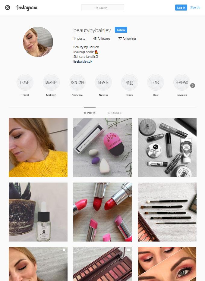 beautybybalslev instagram